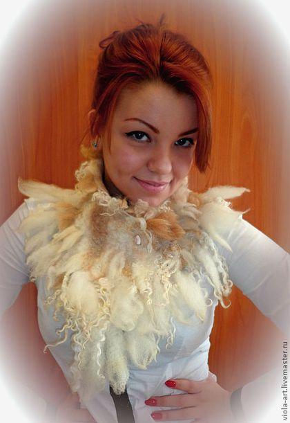 Воротник-шарф-манишка...