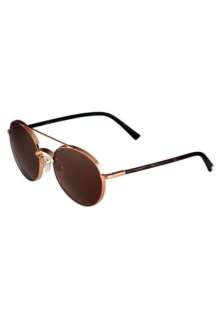 Valentino. Sonnenbrille - rose gold. #sunglasses #sonnenbrillen #fashion #zalandoDE Breite:14 cm bei Größe 55. Bügellänge:14 cm bei Größe 55. Stegbreite:1.8 cm bei Größe 55. UV-Schutz:ja. Brillenform:Pilot (tropfenförmig). Brillenetui:Hartschale