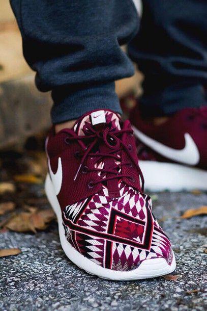 shoes women's nike roshe run nike running shoes burgundy nike free run nike sneakers