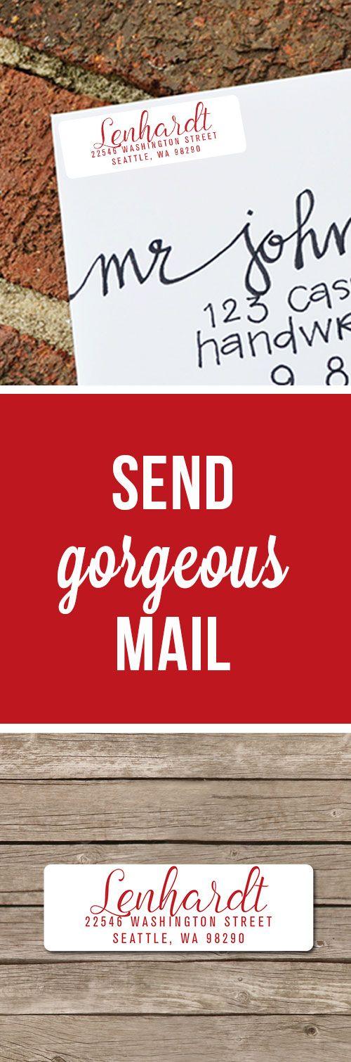 Best 25+ Return address stickers ideas on Pinterest