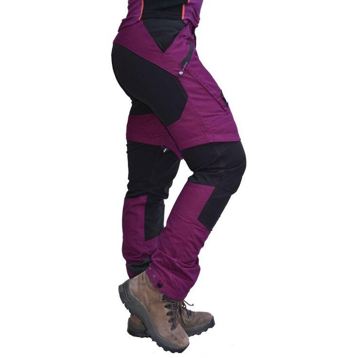Nordwand Zip-off, Women's Purple Rain