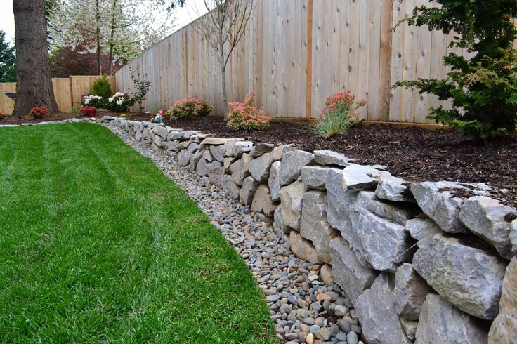 1000 images about rock wall on pinterest landscaping