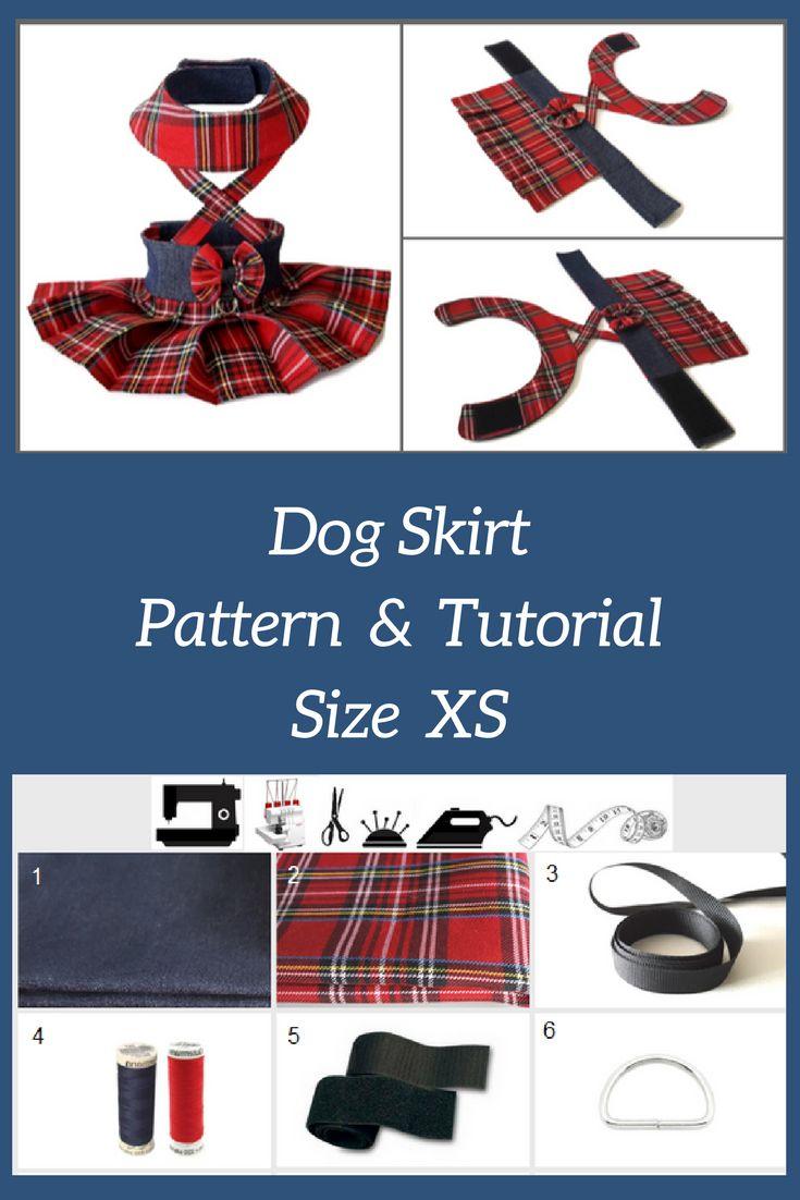 172 best small dog clothes images on pinterest dog clothes patterns sewing dog skirt sewing pattern pdf size xs smalldogfashion dogclothesdiy jeuxipadfo Image collections