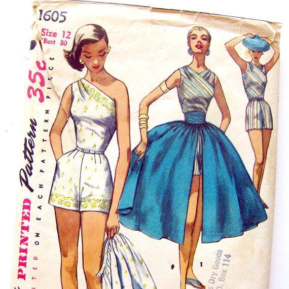 239 best Vintage Sewing Patterns images on Pinterest | 1940er und ...