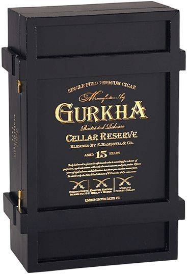 Gurkha Cellar Reserve Limitada Cigar I just got one of these boxes and will be making it into a Humadorable soon!: