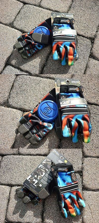 Wheels 165946: New Sector 9 Acid Blue Bhnc Slide Gloves Longboard Skateboard Large X Large L Xl -> BUY IT NOW ONLY: $34.99 on eBay!