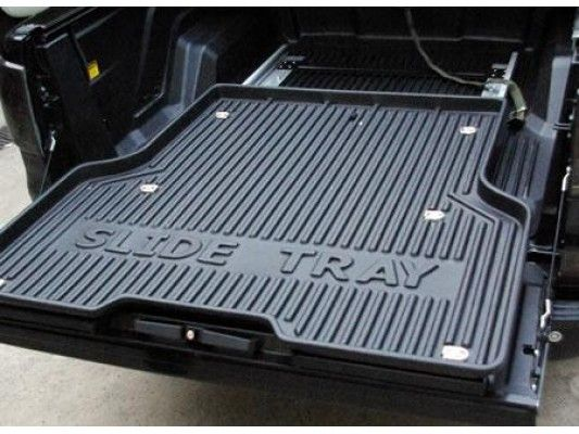 Toyota Hilux 16 >Sliding Steel Bedtray With Plastic Top