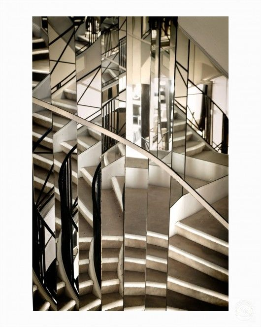1 of 10 prints from 'Second Floor' Box Set edition by Sam Taylor-Johnson - Coco Chanel's staircase at 31 Rue Cambon. See more at countereditions.com #chanel #secondfloor #samtaylor-johnson