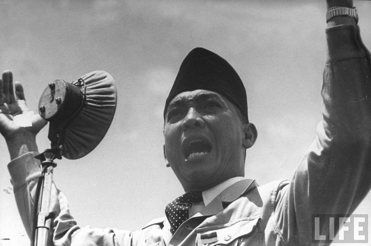 He became the leader of the Indonesian Independence Movement Party and fought for the country's independence from the Netherlands. In 1945, Sukarno became the first president of the Republic of Indonesia, a position he held for almost 21 years
