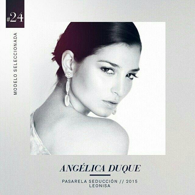Con rasgos latinos exóticos y una mirada sensual, Angélica Duque se posicionó como la modelo #24 seleccionada en casting nacional. #DesnudaTuAlma #Colombiamoda #LeonisaSpirit #MadeInHeavenProductions