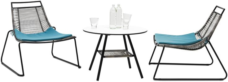 Modern outdoor tables and chairs - Quality from BoConcept $479