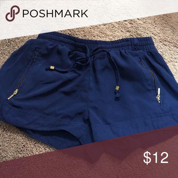 Navy blue shorts Size small Shorts