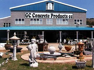 GC Concrete :: Manufacturers of Concrete Pillars and Garden Ornaments :: Architectural, Municipal and Decorative :: Mossel Bay :: George :: South Africa