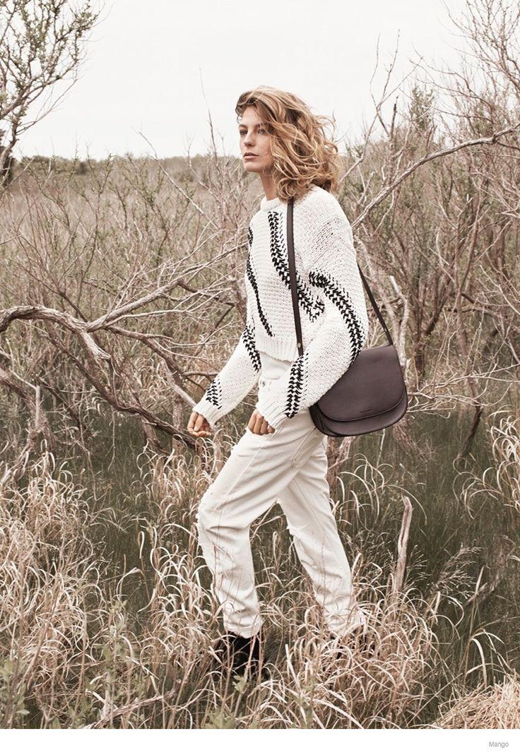 More Photos of Daria Werbowy for Mango Fall 2014 Ads