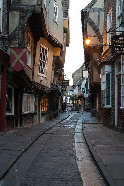 York Shambles ,York,UK