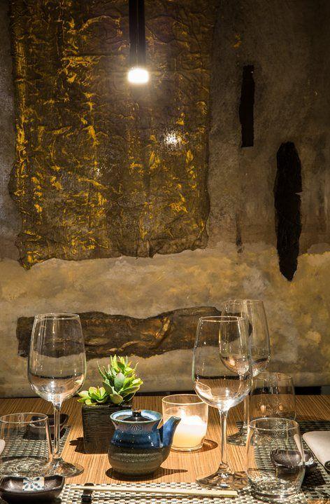 | Yoshi Sushi Restaurant, Brescia, 2016  - Claudia Pelizzari Interior Design #sushi #japanese #restaurant #studiopelizzari #madeinitaly #italia #design #interiordesign #interior #italiandesign #architecture #architect #archilovers
