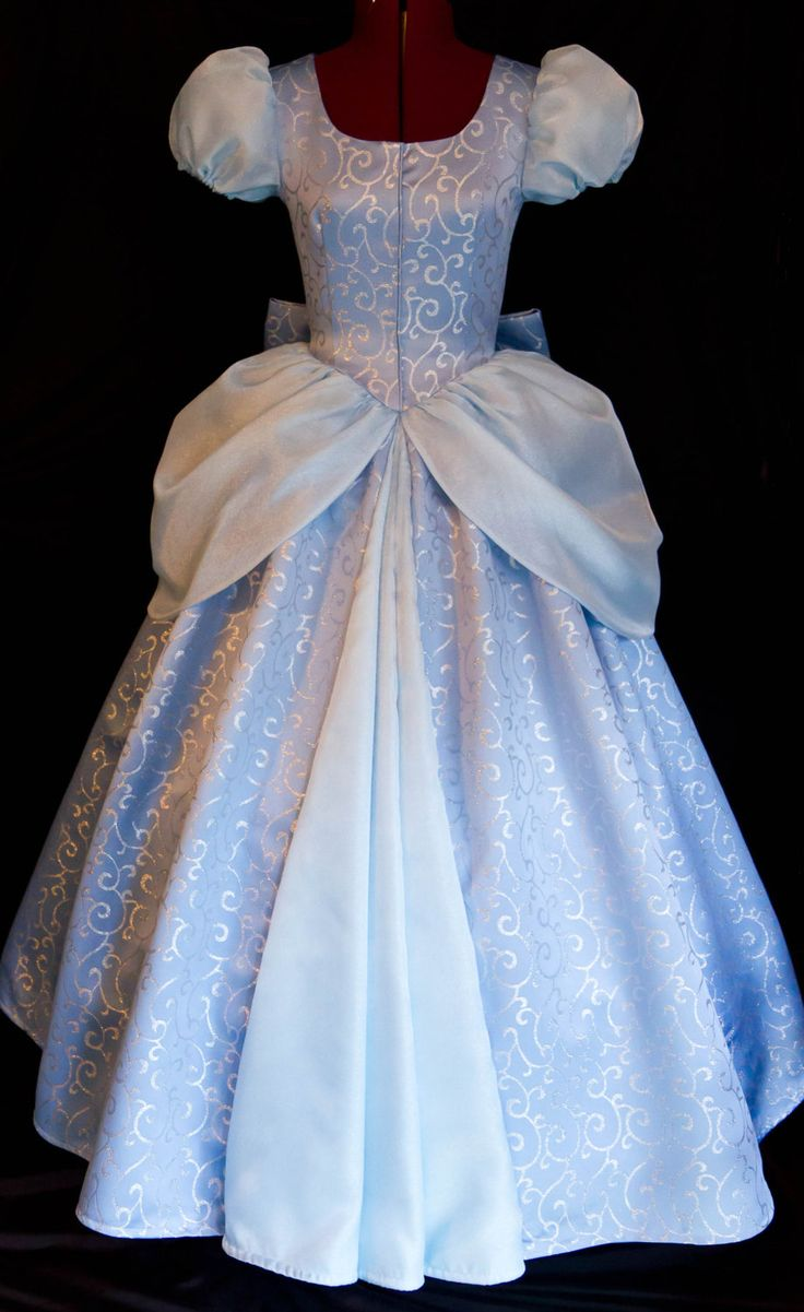 Cinderella GOWN Costume DELUXE Adult Version LIMITED by mom2rtk on Etsy https://www.etsy.com/listing/150522315/cinderella-gown-costume-deluxe-adult