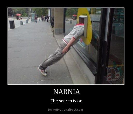 026c50955a9702f7ef84d6c7dca4c9bd demotivational posters narnia 134 best narnia images on pinterest chronicles of narnia, funny,Narnia Memes