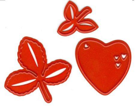 Joy Crafts - die - Berry sweet strawberry 6002-0453