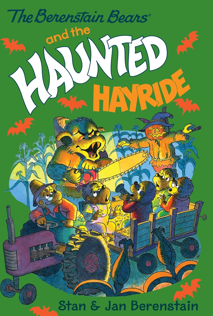 The Berenstain Bears and the Haunted Hayride - This chapter book is now available from all eBook retailers.