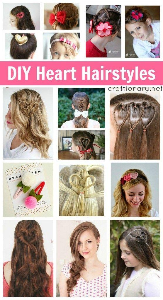 Best Heart Hairstyles Ideas On Pinterest Oktoberfest Dates - Hairstyle for valentine's dance
