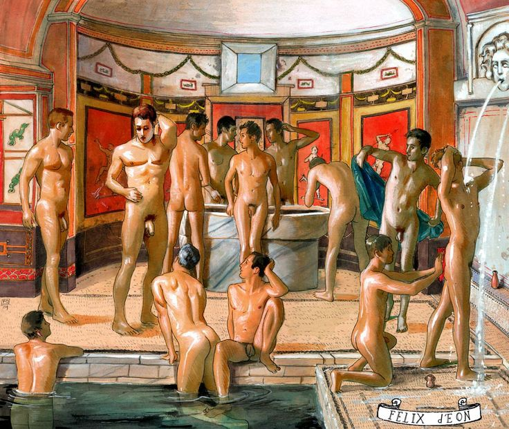 from Donovan roman gay bath