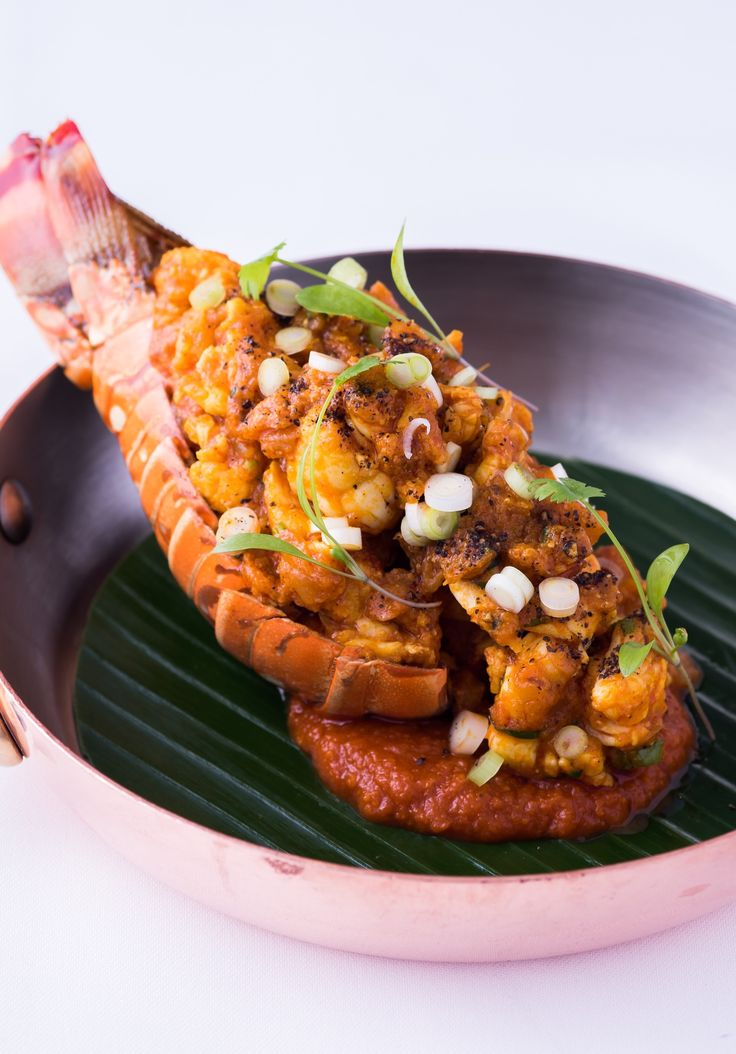 An indulgent lobster recipe from chef Peter Joseph, this elegant curry features lobster tails poached in a fragrant, spiced tomato sauce. Frying the whole spices first releases the maximum aroma into the oil for flavouring the rest of the dish.