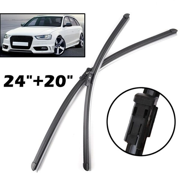 Xukey 24 20 Windshield Windscreen Wiper Blades For Audi A4 B8 A4 Allroad 2008 2016 Front Window Wiper Blade 2015 2014 2013 2012 2011 Wish Audi Best Car Insurance Audi A4