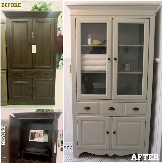 From Tv Cabinet To Linen Cabinet How Many Of These Do You See Now That Flat