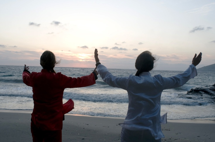 Tai chi in Andros