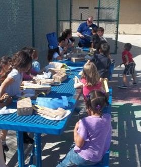 On Wednesday, April 10, in honor of the Ross Power Hour Grant, six Ross Store managers came from all over the San Diego region to volunteer with the members of the Boys & Girls Clubs of Greater San Diego.  Everyone had so much fun reading the book 100 Hungry Ants, making picnic baskets with the volunteers and then sandwiches to enjoy!  The volunteers were so helpful and a lot of fun.  Thank you Ross Stores for all that you do for the Boys & Girls Clubs of Greater San Diego!
