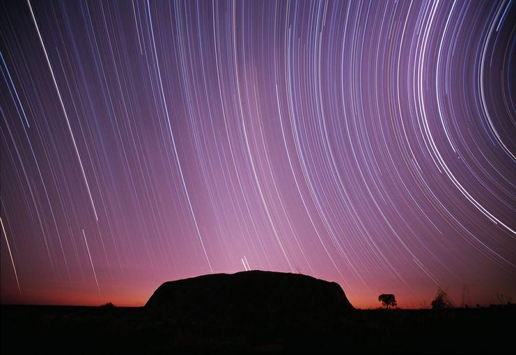 nighttime at Uluru (Ayres Rock)