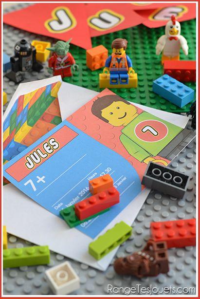 Quand on a 7 ans et qu'on est un TRÈS grand fan des célèbres petites briques de construction, -vous savez celles qui font mal aux pieds…- forcément, on veut un anniversaire Lego. Un anniversaire Le…
