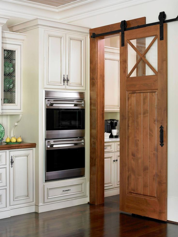Avoid The Dreaded Swing Door A Barn Door Separates