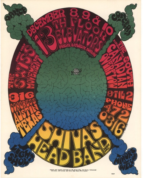 Shiva 39 s head band 13th floor elevators the swiss for 13th floor band