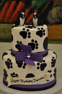 Boston Terrier Cake | by Designer Cakes By April