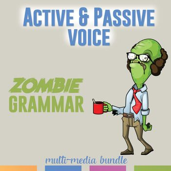 Active and Passive Voice Multimedia Bundle: Video, Task Cards, Scramble. Teach verb voice with this complete grammar lesson plan.
