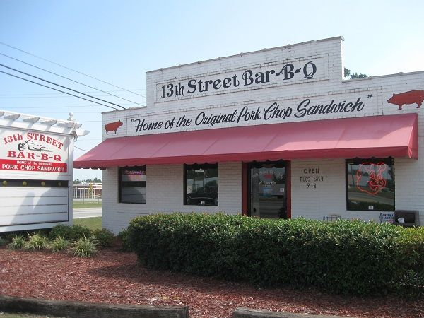 Mike & Ed's Bar-B-Que and 13th Street Bar-B-Q, Phenix City AL | Marie, Let's Eat!