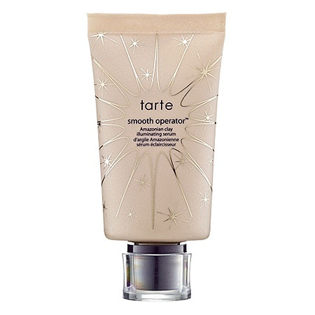 Tarte Smooth Operator™ Amazonian Clay Illuminating Serum: Shop Luminizer | Sephora    Great Moisurizer for Summer Give you a nice glow...i use it with a power foundation and a concealer on any blemishes and im good to go the whole day...even if i get oily or sweaty you can't see it, especially when combined with the tarte blush and highlighter on top of the T-Zone (cheeks, hair line nose, cupids bow and center of chin)
