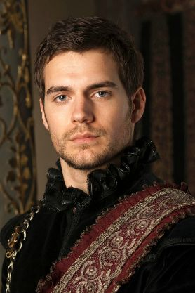 Henry Cavill aka Charles Brandon, 1st Duke of Suffolk on The Tudors and soon to be the new Man of Steel.