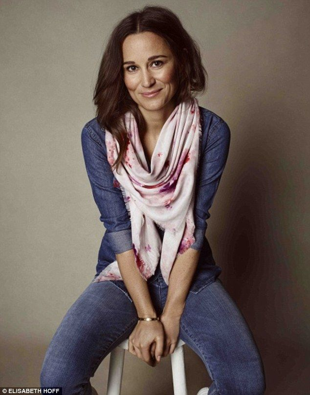 Pippa Middleton, English socialite, author, columnist, and the younger sister of Catherine, Duchess of Cambridge.