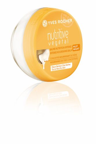 Intense Nourishing Balm - Night  From now on, transform the appearance of your dry skin! The Intense Nourishing Balm - Night immediately nourishes the skin and continues to nourish it all through the night. It comforts and reduces the tight feeling of the skin. #yvesrocherbeauty #botanicalinnovation