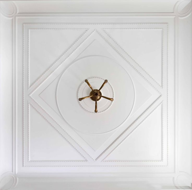 Music Room Ceiling Detail | John B. Murray Architect