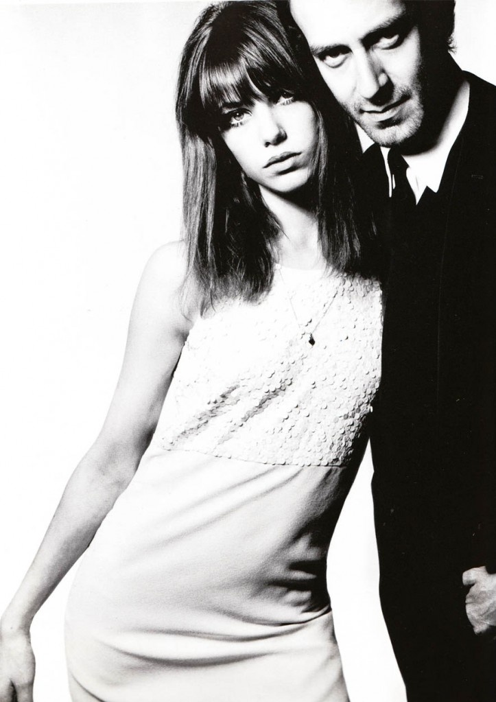 Jane Birkin & John Barry (who composed the music for the James Bond films, The Lion in Winter, etc.) by David Bailey - 1965. Yes, they were married!