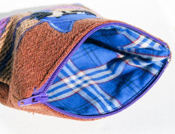 Cat Zipper #Pouch, Handmade, Kawaii design, Quality Crafts, Make-up bag, Handmade in Norway