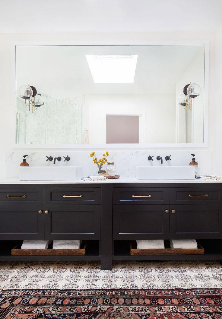 Best 25 Black Bathroom Vanities Ideas On Pinterest