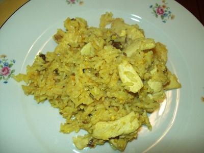 Ricette indiane: pollo Biryani