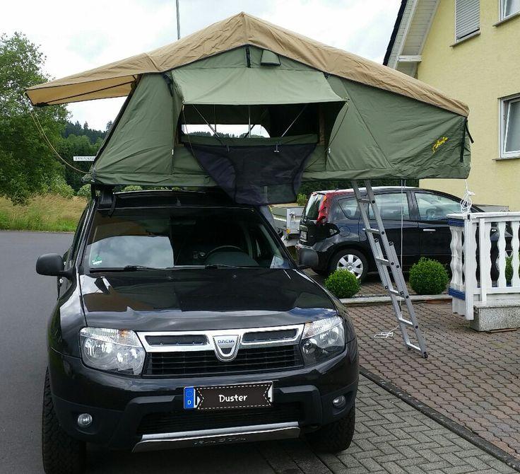 Dacia Duster Gordigear Roof tent                                                                                                                                                                                 Plus