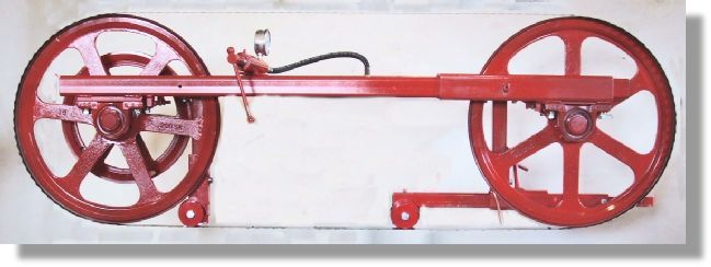 Basic sawframe, sawmill parts