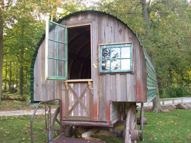 64 best Sheep wagons images on Pinterest Sheep Gypsy wagon and
